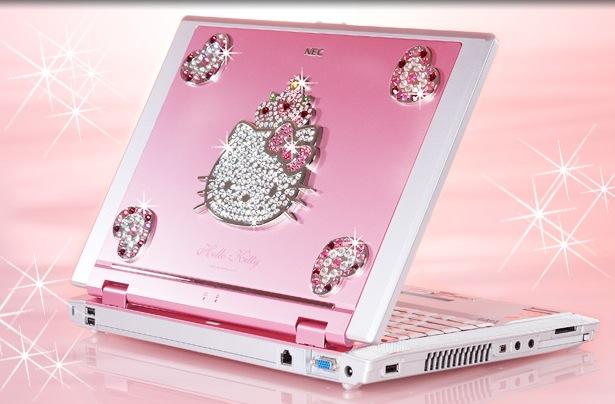 lyserød pc