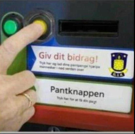 Brøndby pantknap