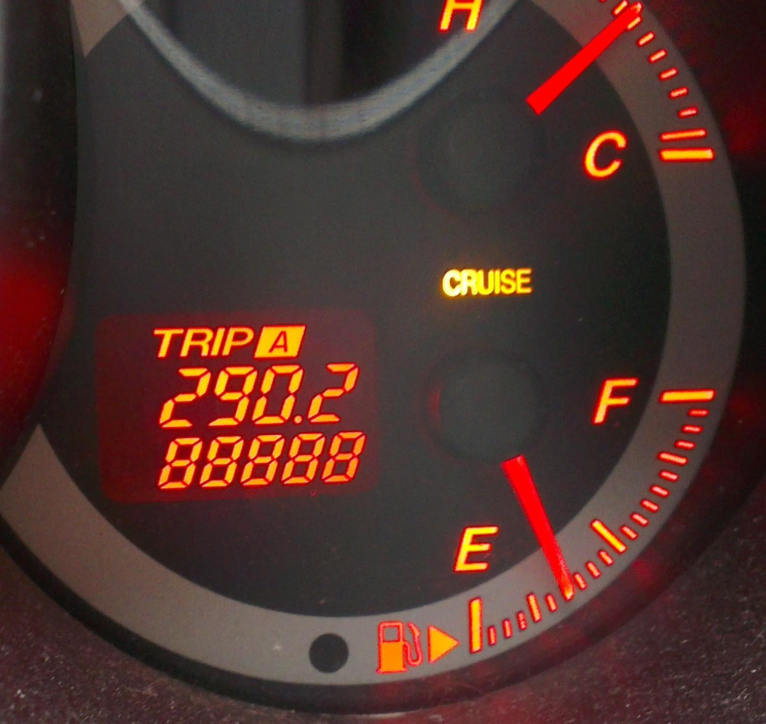 Mazda 3 trip