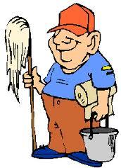 rengøringsmand